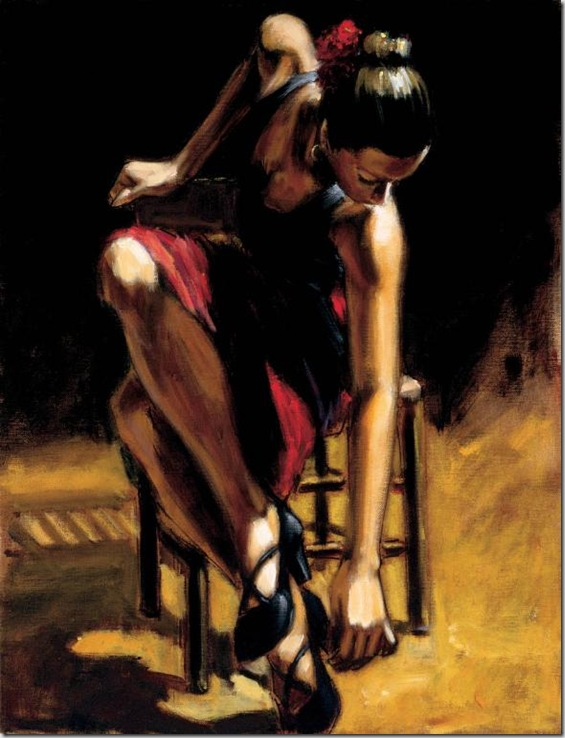 Fabian Perez 1967 - Argentine Figurative painter - Reflections of a Dream - Tutt'Art@ (9)