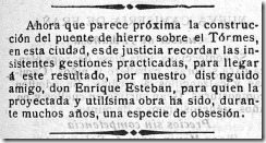 obsesin puente de Enrique Esteban Salamanca-El Adelanto 05-02-1902