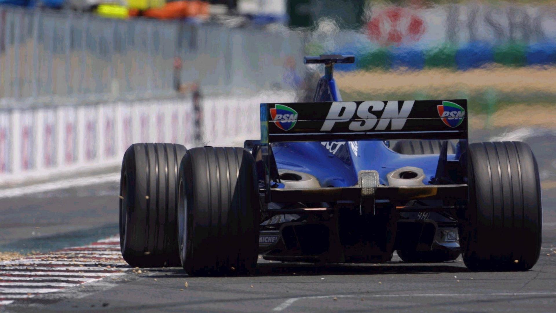 Prost F1, equipe histórica de Formula 1 de 2001 - by f1-fansite.com