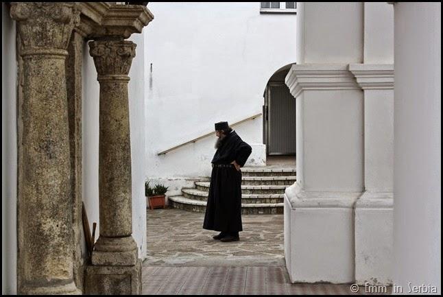 Patriarch at Krusedol Monastery