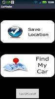 Screenshot of Car Finder