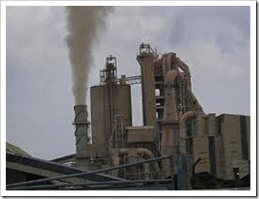Sumber limbah b3 dari cerobong asap pabrik