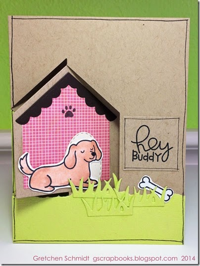 Hey Buddy card by @gscrapbooks