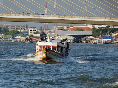 transport fluvial Bangkok: Chao Praya Express