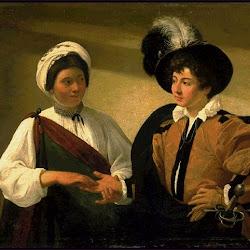 46 - Caravaggio - La buena ventura