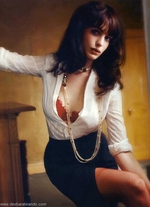 anne hathaway linda sensual sexy desbaratinando  (57)