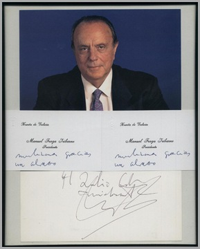 Don Manuel Fraga Iribarne, político ejemplar.