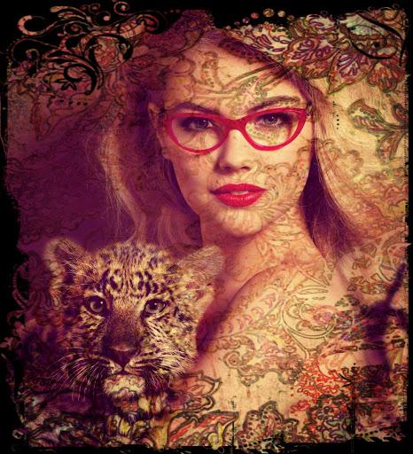 Brillen für die Femme fatale