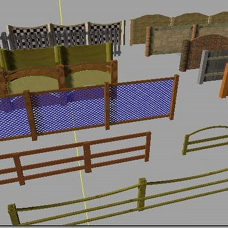 Farming simulator 2013 - shrine fence v 1.0 (recinti)