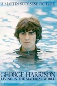 George Harrison - Living in the Material World - poster