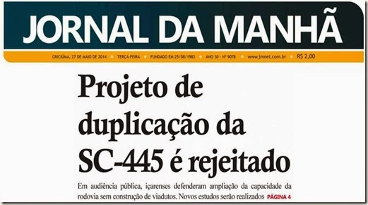 SC445 30 anos