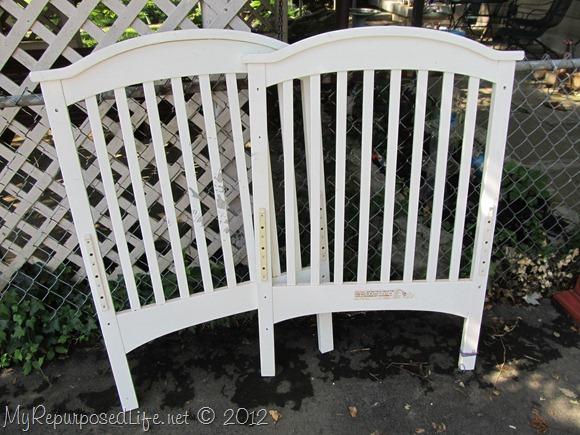 repurposed crib toybox bench (2)