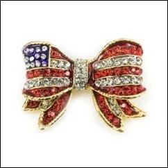 patriotic colored gemstone jewelry