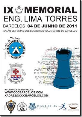 IX Memorial Lima Torres-cartaz