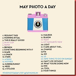 MAY-PHOTO-A-DAY 2013
