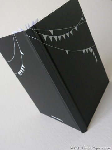 Journal Design wraps around front and back covers