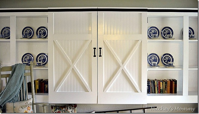 front view barn doors