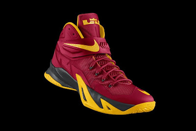nike zoom soldier 8 id options preview 1 01 Design Your Own Cleveland Cavaliers Soldier 8s on NIKEiD