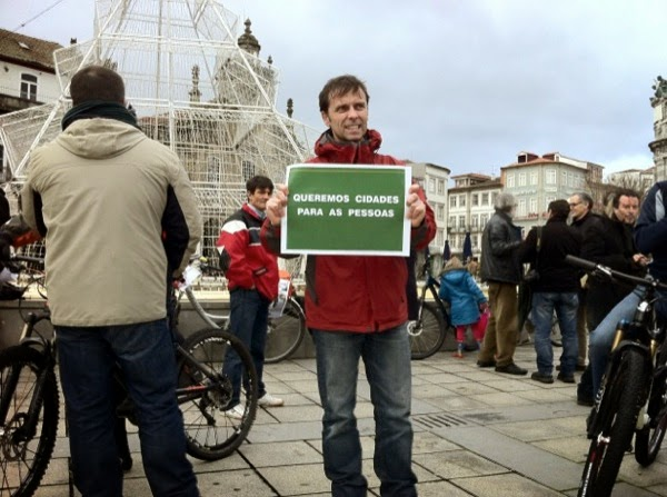 Queremos cidades para as pessoas