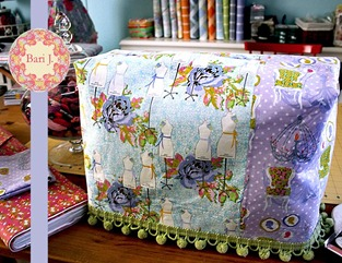 Bari J  Sewing machine cover