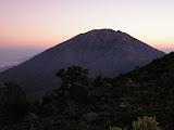 Merbabu from near the top of Merapi (Daniel Quinn, July 2009)