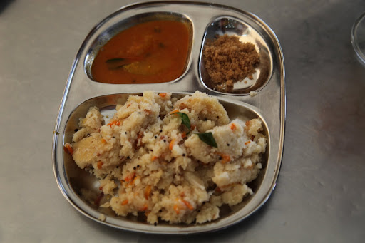 17 Upma was served on segmented trays like this a typical South Indian