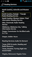Screenshot of iBlink Radio