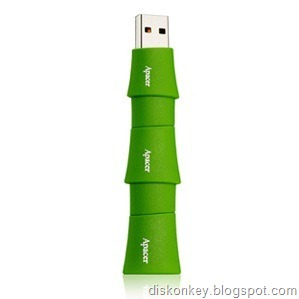 Bamboo USB flash drive 2