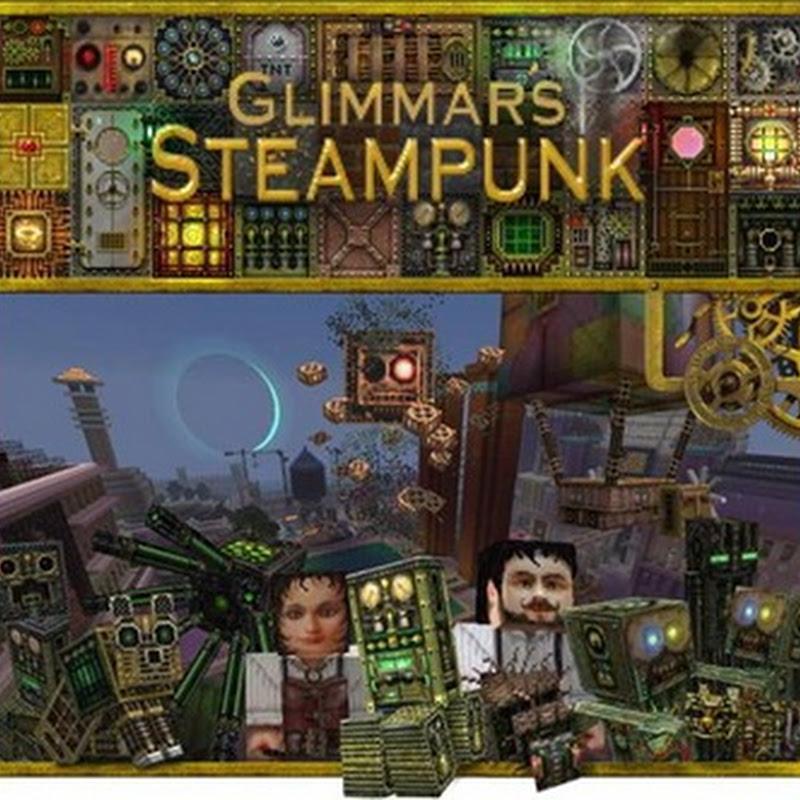 Minecraft 1.2.5 - Glimmar's Steampunk v5 Texture Pack