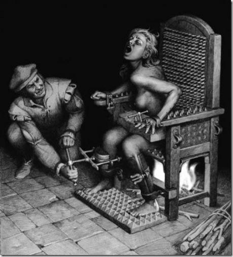 инквизиция секс пытки