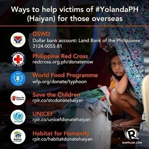 Help Yolanda Victims