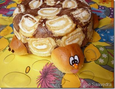 tarta tortuga