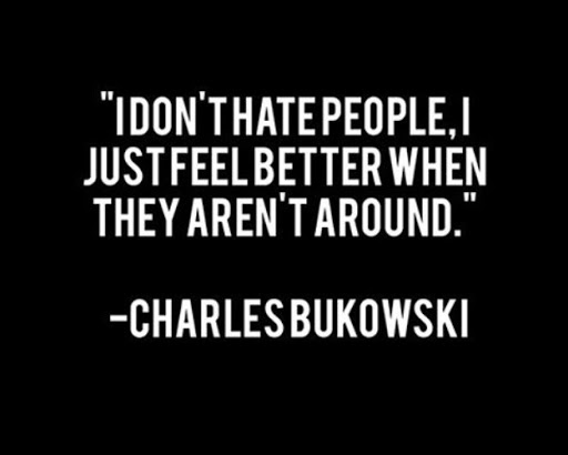 I Hate People Quotes Funny