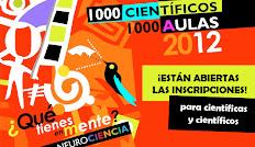 Abiertas inscripciones para 1000 Científicos 1000 Aulas