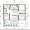 Denah Rumah Minimalis 3 Kamar Tidur Tanah 10 x 10 m2Sedang mencari denah rumah minimalis 3 kamar tidur? Sebut saja anda memiliki 2 anak maka jumlah min\u2026