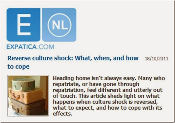Expatica reverse culture shock what when and how to cope