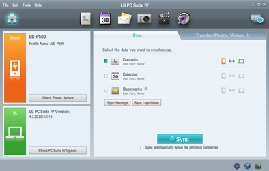 LG PC Suite 4 Download