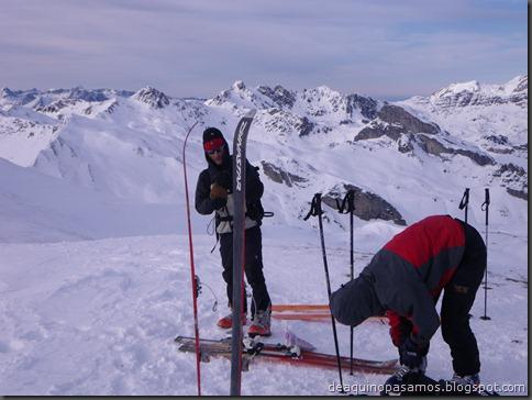 Pico de Canal Roya 2345m con esquis (Portalet, Pirineos) (Isra) 7347