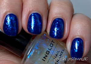 Barry M Indigo   Inglot 204 2