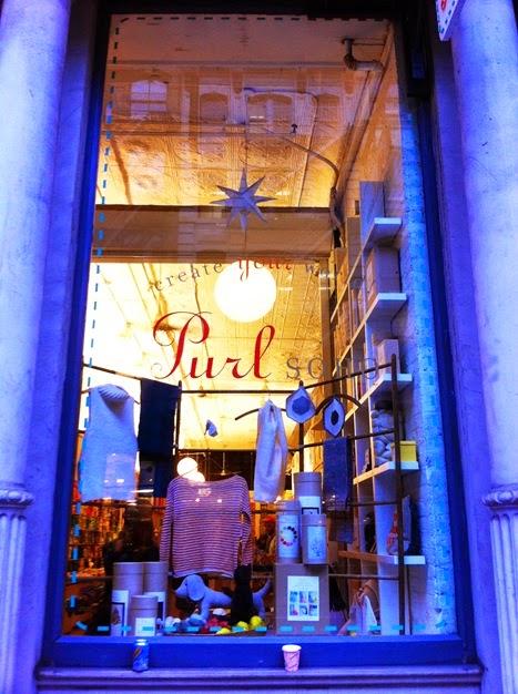 Purl Soho shopfront