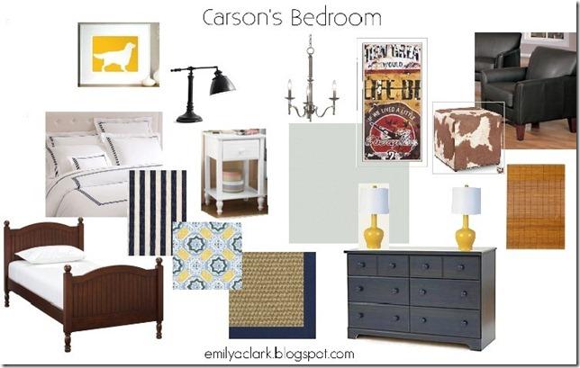 Carson's Bedroom-Caycee Hewitt