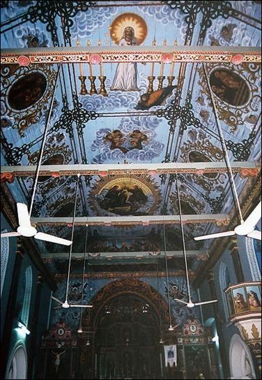 Palayoor Interior Ceiling