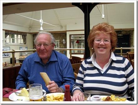 Pam & John at Orton Hall