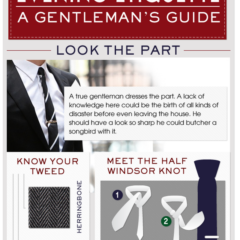 Evening Etiquette: A Gentleman's Guide