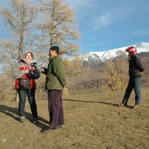 Xinjiang, Baihaba - Pause Mongo-Pakistanaise