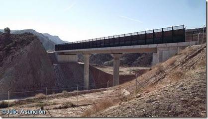 Puente sobre el AVE - Aspe