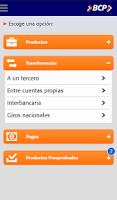 Screenshot of Banca Móvil BCP - Bolivia