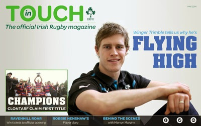 In Touch May cover