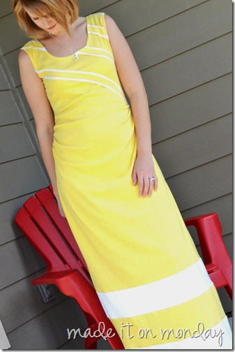 yellow maxi 2