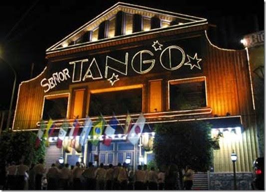 Senhor Tango. Show e Jantar. Espectáculo em Buenos Aires